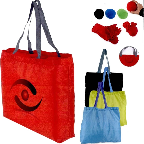 "Portal - Convertible Tote Bag Made Of 190t Nylon, 18"" X 16"" Photo"