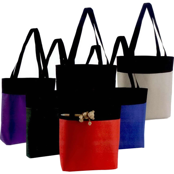 "Axel - Tote Bag Made Of 600 Denier Nylon, 15"" X 15 1/2"" Photo"