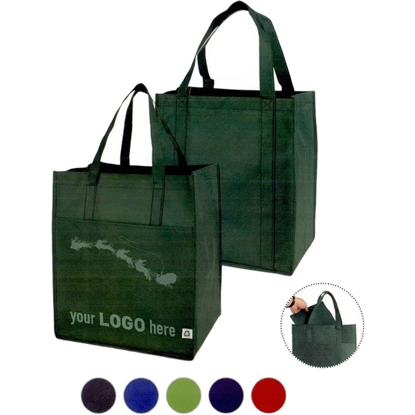 "Macro - Tote Bag Made Of Non Woven Polypropylene, 13"" X 15"" Photo"