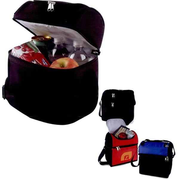 "Cyclone - Lunch Cooler Made Of 600 Denier Nylon, 9 1/2"" X 10 "" X 6"" Photo"