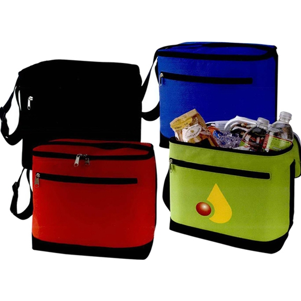 "Hydro - Lunch Cooler Made Of 600 Denier Nylon, 10 1/2"" X 10 "" X 6 1/2"" Photo"