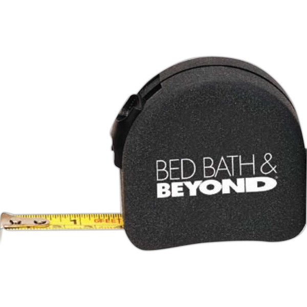 6 Ft Tape Measure. Retractable Locking Feature. Belt Clip Attached On Back Photo