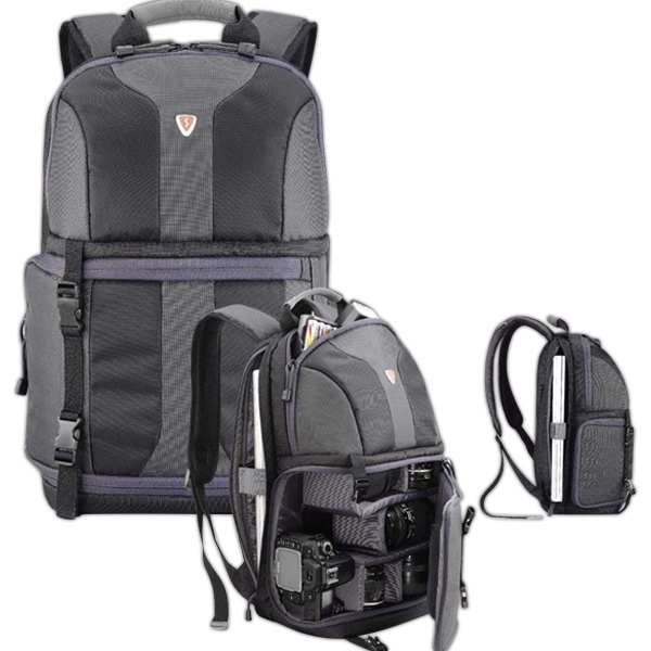 "X -sac (tm) - A Stylish Backpack For Digital Camera/accessories, And 14.1"" Pc Or 15""mac Notebook Photo"