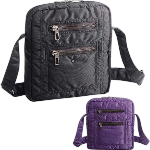 She Rules (tm) Freebird - Shoulder Bag Ideal For Personal Accessories And Handheld Electronics, Blank Photo