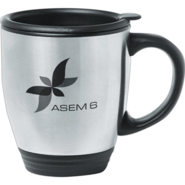 16 oz. Steel Bistro Mug