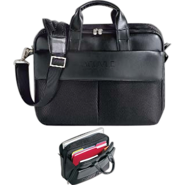 Boardroom - Computer Case With Well Appointed Front Pocket Features And Deluxe Organization Photo