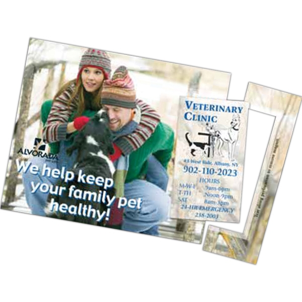 Perf 5 x 7-1/2 Direct Mail Magnet Postcard
