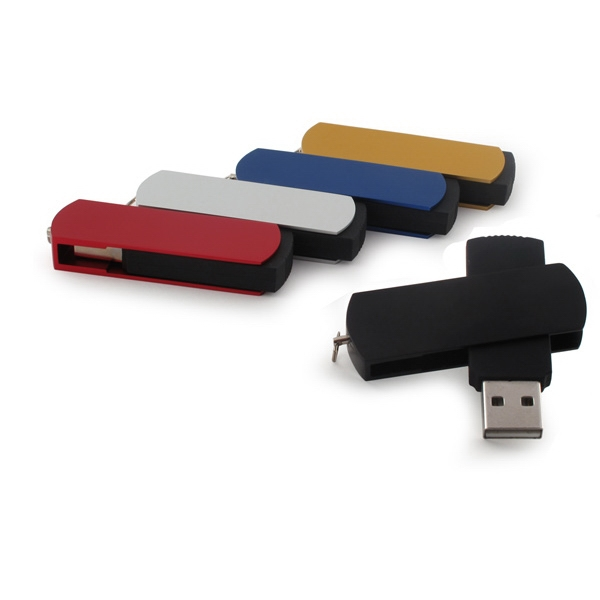 512mb - Swivel Usb Drive 800 Global Saver Photo