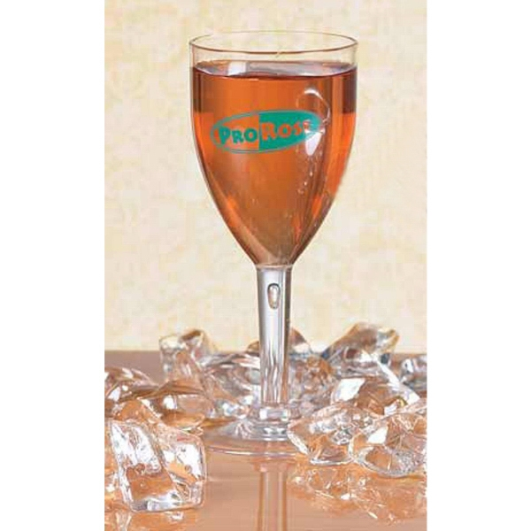 High Quality Sample 2 Oz Mini Wine Glass Made Of Styrene Plastic Photo
