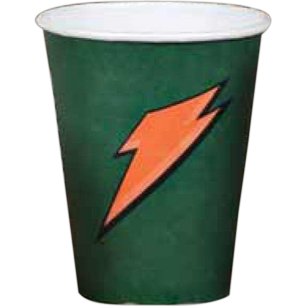 2 Color Imprint - 12 Oz - Full Wrap Color Paper Cup Photo