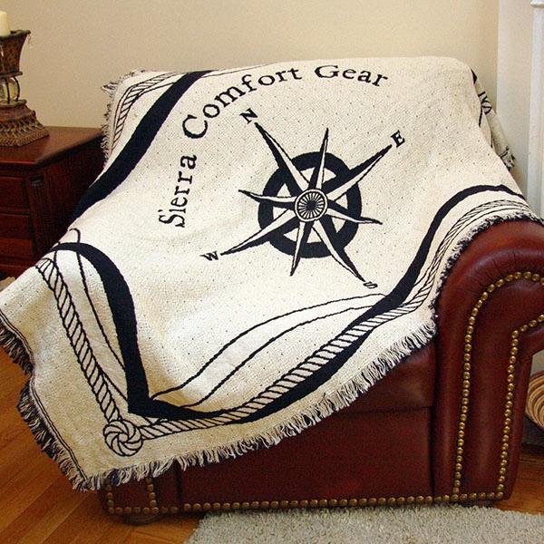 Custom 2-Layer Throw Blanket, size L