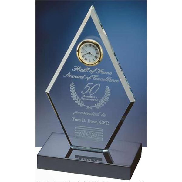 Diamond Award Clock Photo