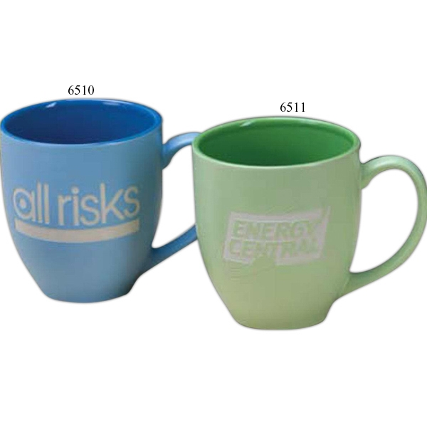 Blue - Multi Color Bistro Mug, 16 Oz Photo