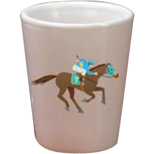 Full Color Shot Glass, 1.5 Oz Photo