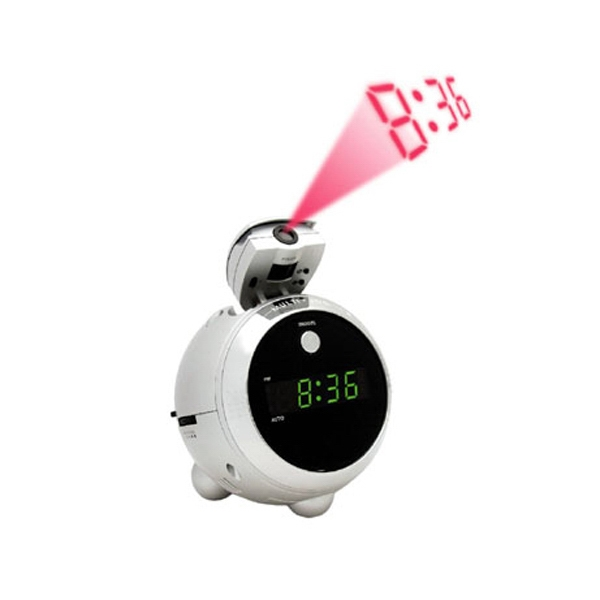 AM/FM Projection Clock Radio