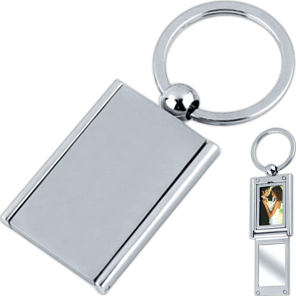 Rectangle Photo Key Tag Photo