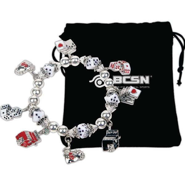 Bret Roberts (tm) - Gaming Charms Stretch Bracelet Photo