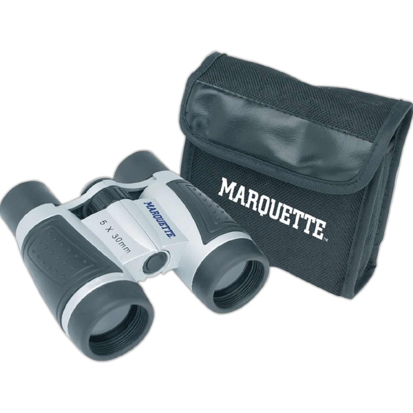 Trail Worthy (tm) - Binoculars With Rubber Grips And Neck Strap, 5 X 30 Magnification Photo