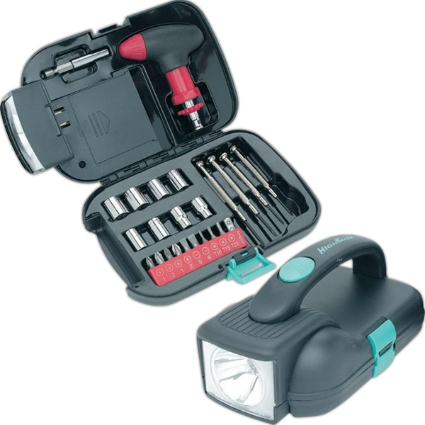 Trail Worthy (r) - Tool Kit With A Powerful Spotlight Photo