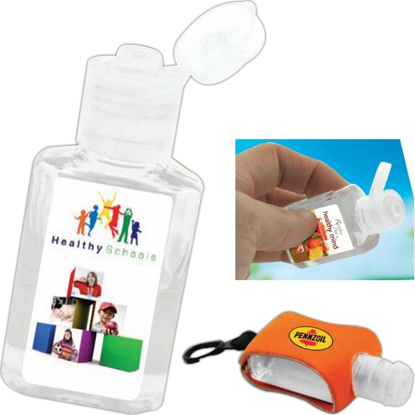50 Working Days - Odorless Fda Approved Hand Sanitizer 1 Oz. Gel Photo