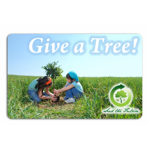 Eco-Friendly Plant-A-Tree Card