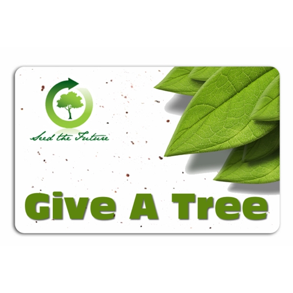 Custom Seeded Plant-A-Tree Card
