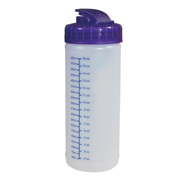 16 Oz - Sports Bottle With Free Assembly. Natural Pint Photo