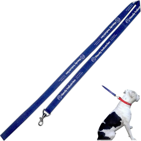 Leash, Made Of Heavy Duty Nylon For Durability, Perfect For Any Size Dog Photo
