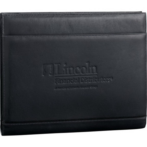 Palazzo - Leather Zippered Padfolio With Interior Organizer Photo