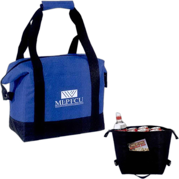 Silkscreen - Leak-proof 16-can Cooler Tote Bag With Front Pocket And Carrying Handles Photo