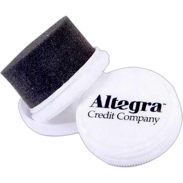 Compact Shoe Shine With Silicone Applicator Pad Photo