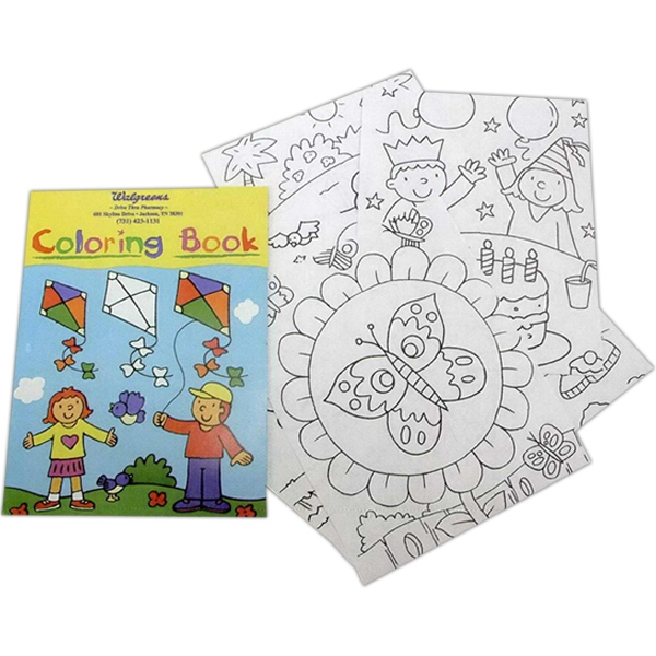 Coloring Book Includes 10 Pages Photo
