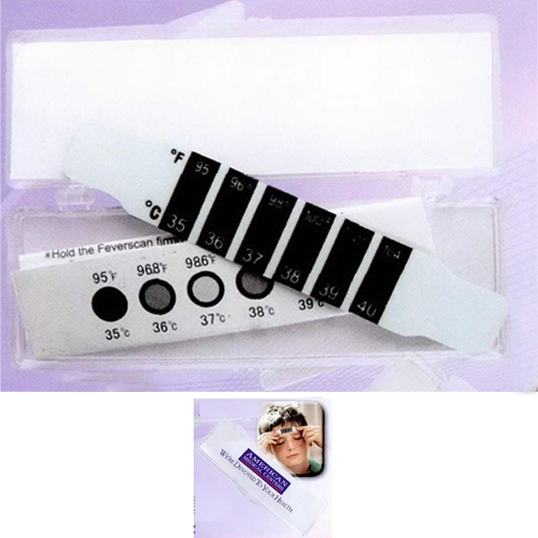 Forehead Thermometer In Clear Case Photo