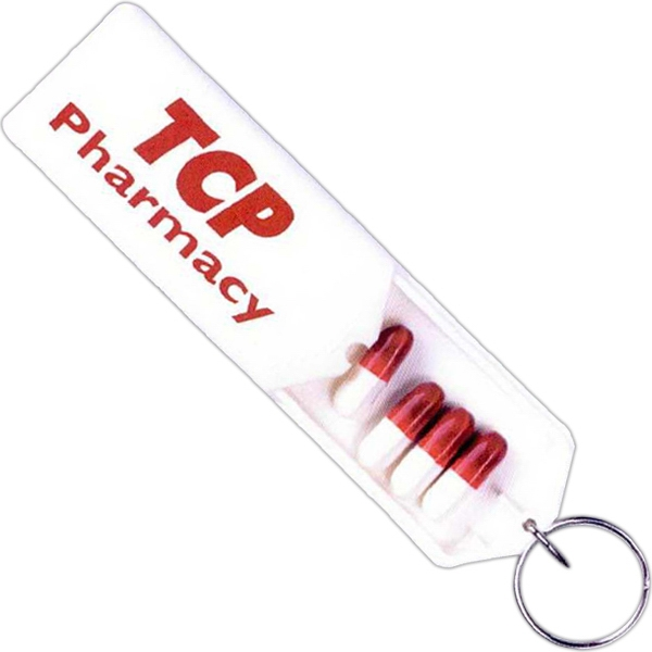 Key Ring Pill Box Photo