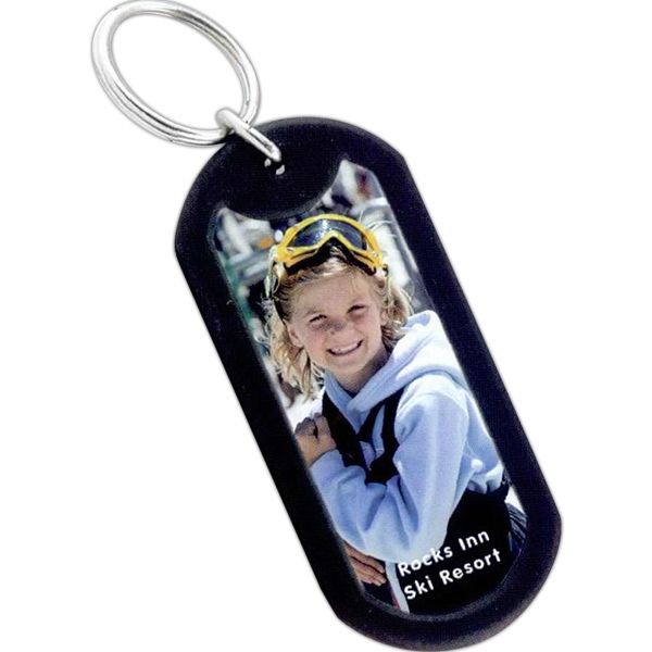 Photo Dog Tag Key Tag Photo