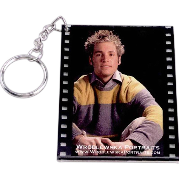 Filmstrip Slip-in Key Tag Photo