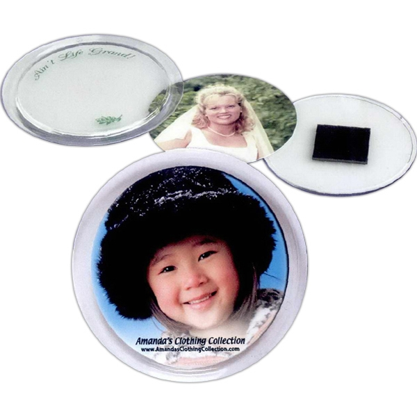 "Snap-in Magnetic Disc, Insert Size 2 1/4"" Diameter Photo"