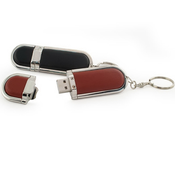 Leather 600 Series - 256mb - Leather Usb Drive 600 Photo