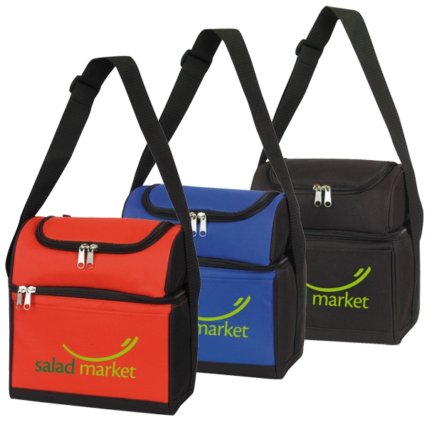 DAIN 2-IN-1 LUNCH BAG AND 6 CAN COOLER-IMP