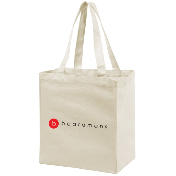 CANVAS GROCERY TOTE BAG
