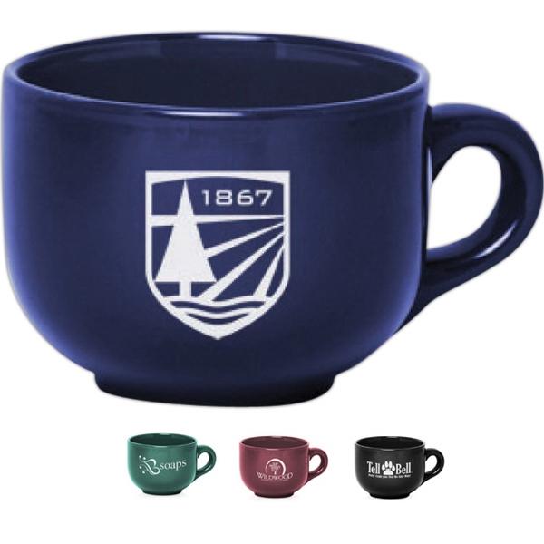 18 oz. Ceramic Cappuccino Mugs
