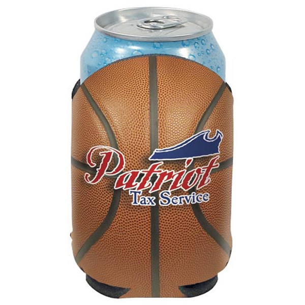 "Action Coolie (tm) - Basketball Can Insulator, Round, 1/8"" Thick High Density Scuba Foam Photo"
