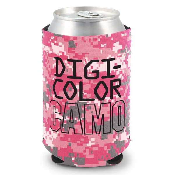 Kolder Kaddy (tm) - Camo Four Color Process Can Insulator, High Quality Neoprene Material Photo