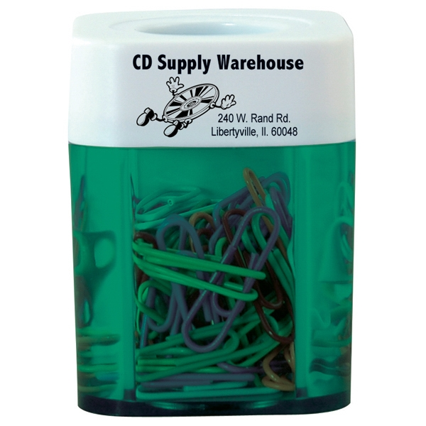 Translucent Paper Clip Dispenser Photo