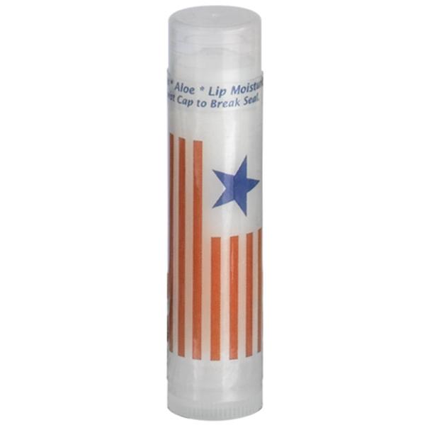 SPF 15 Lip Balm in Clear Tube & whitel label - SPF 15 Lip Balm in Clear Tube.