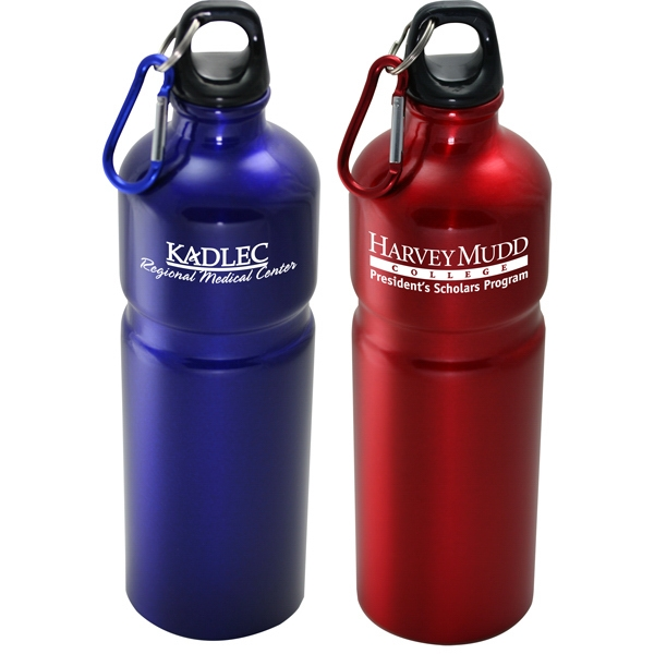 Urban - 27 Oz Aluminum Sports Bottle With Carabiner Photo