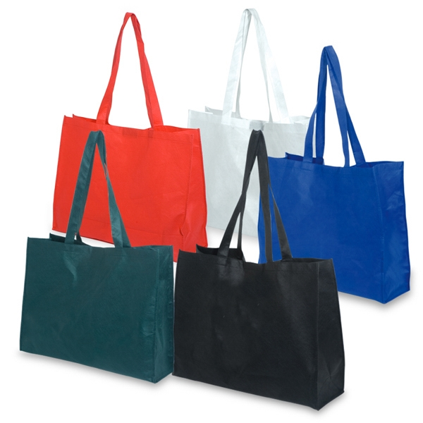 36-Hour Non Woven Polypropylene Show Tote w/ Velcro Closure - Free Rush! Photo