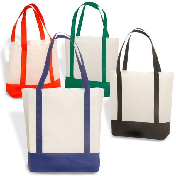 36-Hour Harbor Non Woven Polypropylene Tote Bag - Free Rush Photo