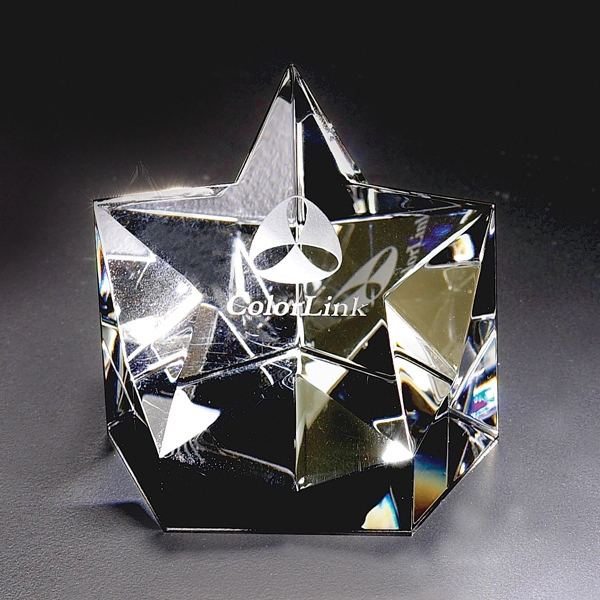 Starlight - Starlight Crystal Paperweight By Crystal World Photo