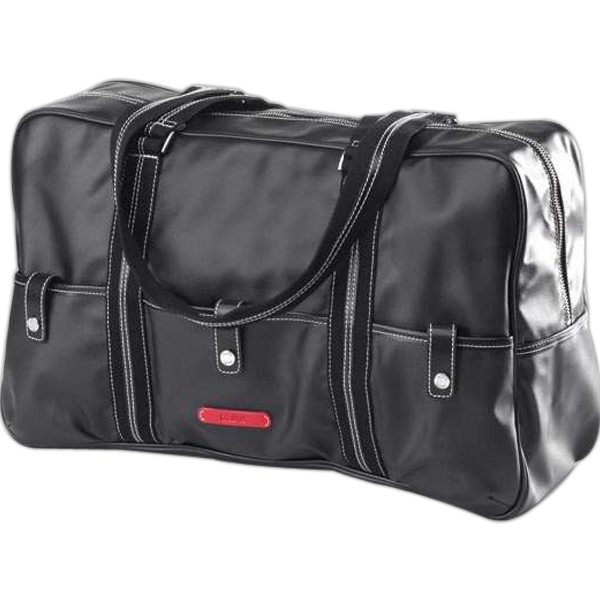 Carina - Coated Canvas Pocket Duffel Bag Photo